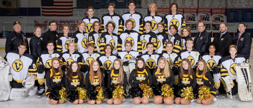2018 - 2019 Varsity Hockey and Cheer