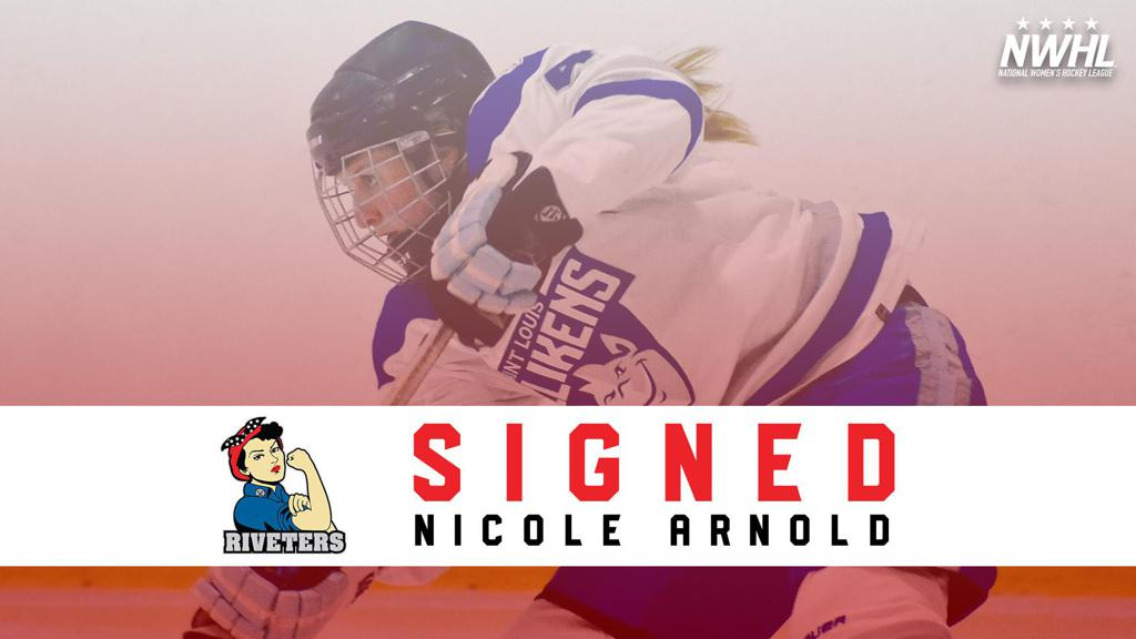 St  Louis Native Nicole Arnold Signs with the Riveters
