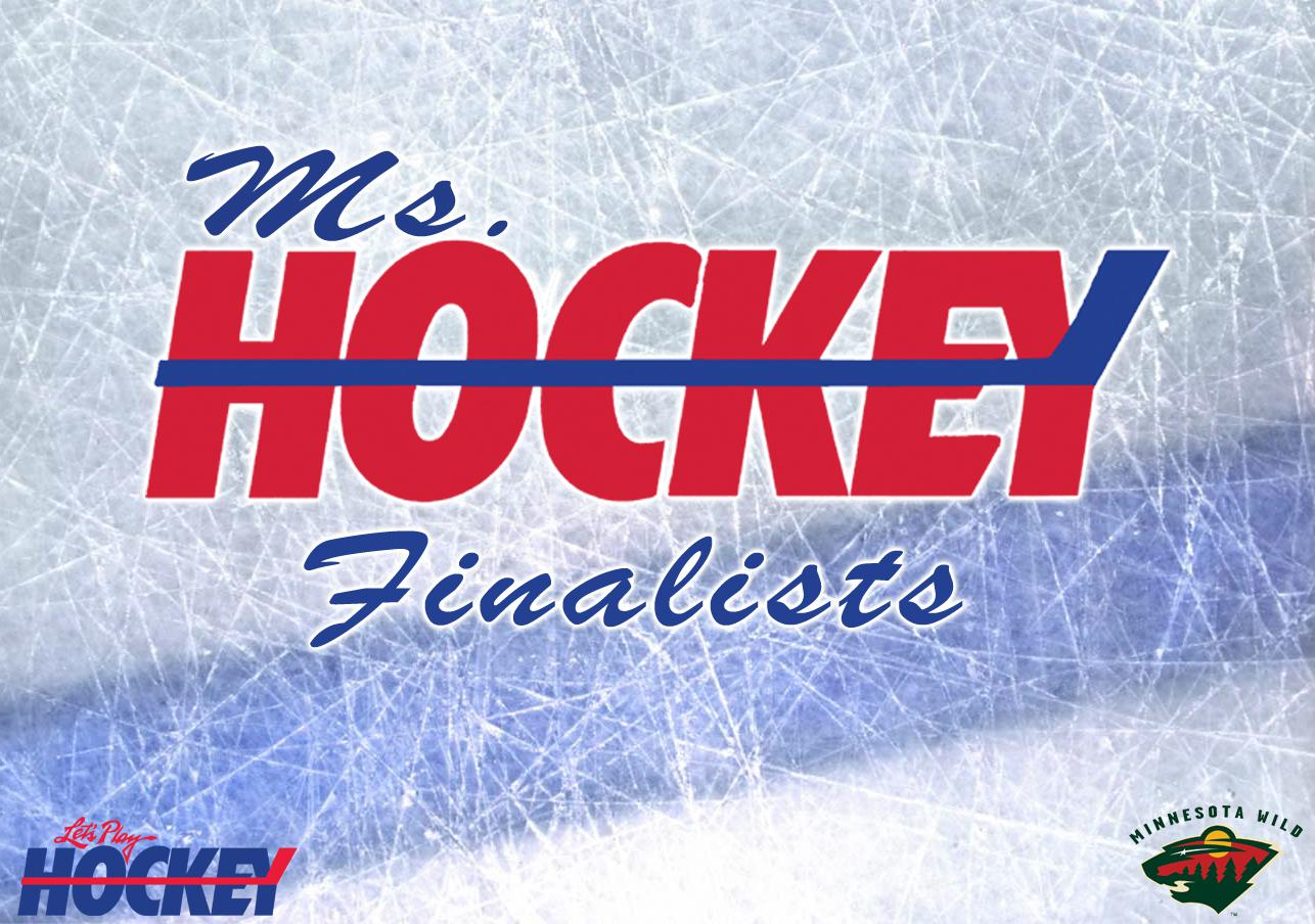 new arrival 785ed 8f92f Five finalists announced for 2019 Ms. Hockey Award