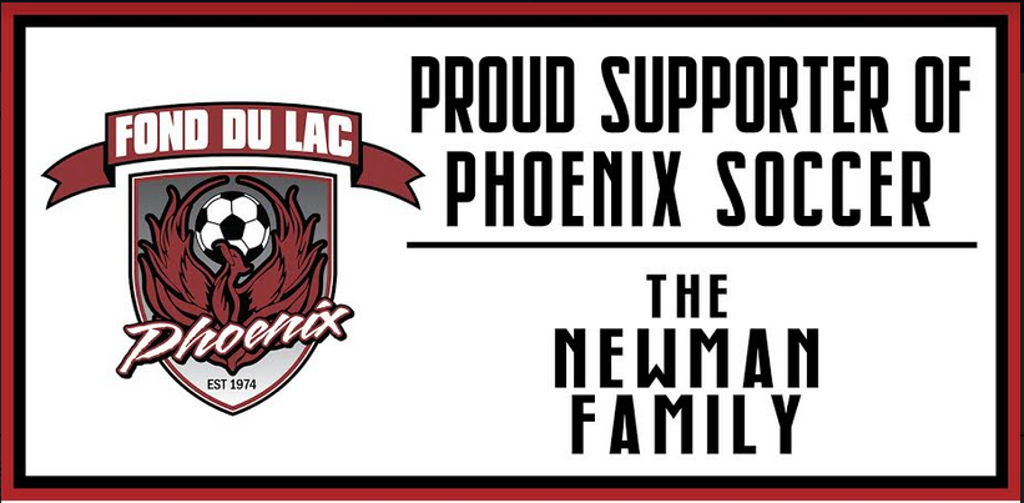 Fond du Lac Phoenix Banner with Name