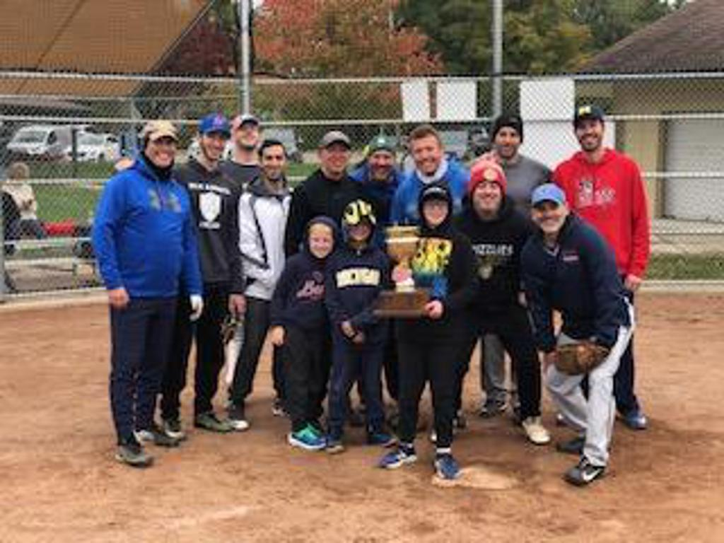 Intercongregational Mens Club Softball Fall Season 2020