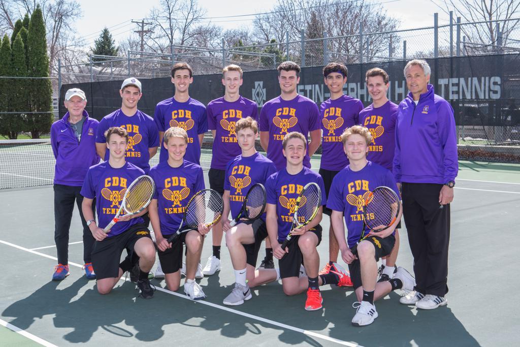Boys Tennis Team 2019