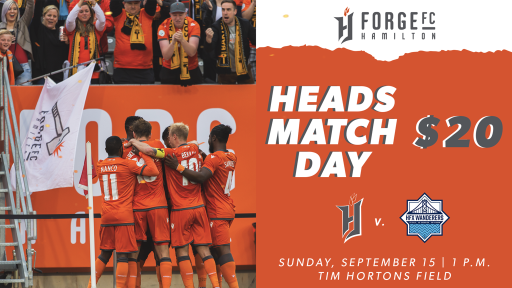 HEADS Day @ FORGE FC