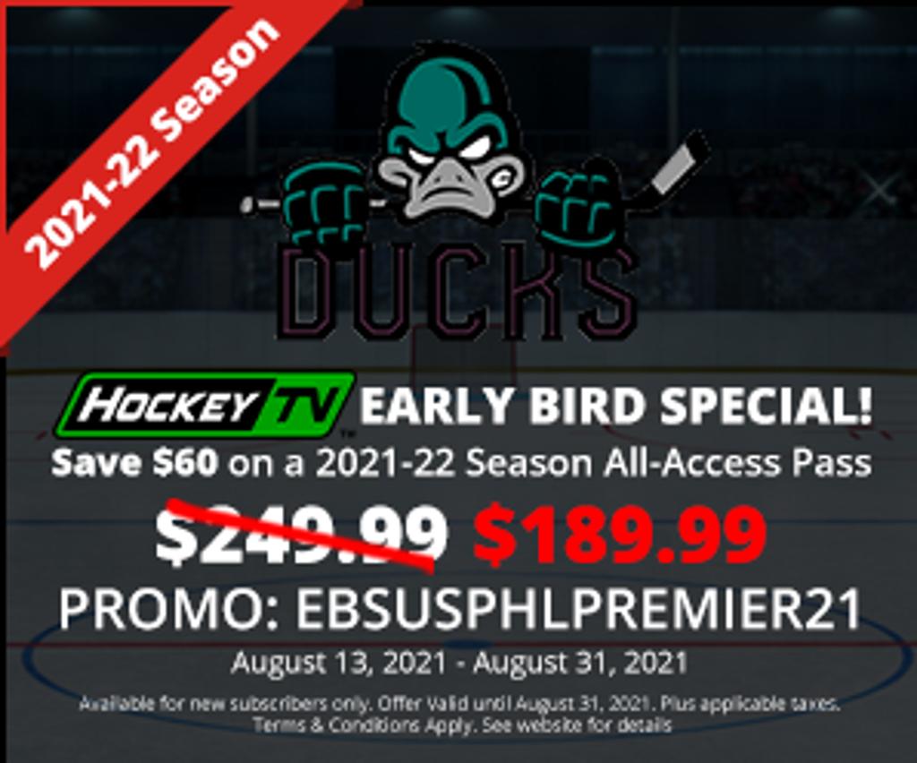 Ducks Coupon for HockeyTv