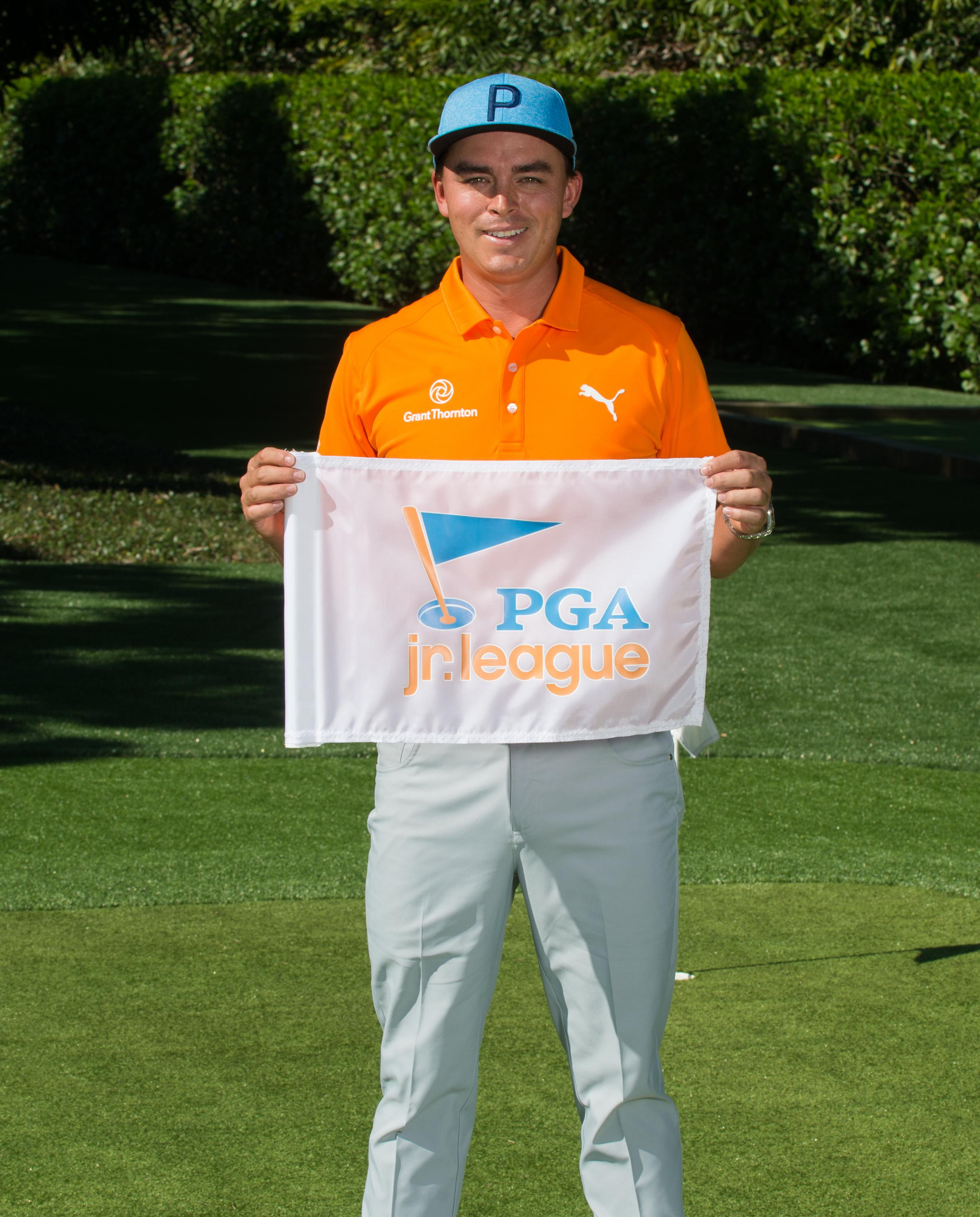 PGA Jr. League Ambassador Rickie Fowler