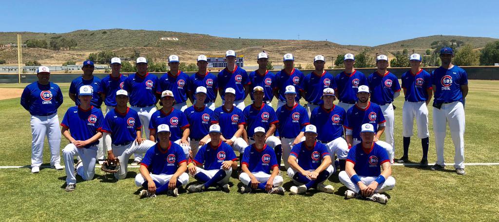 2018 Coastal Cubs Collegiate Team