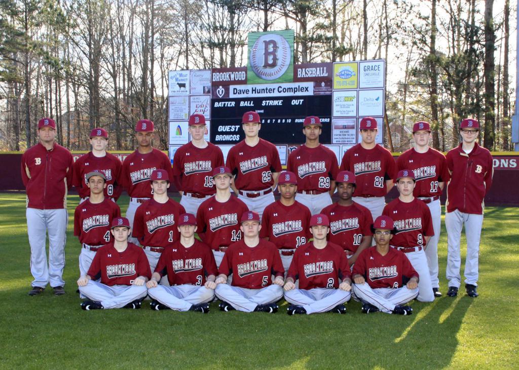 2019 Brookwood JV Baseball