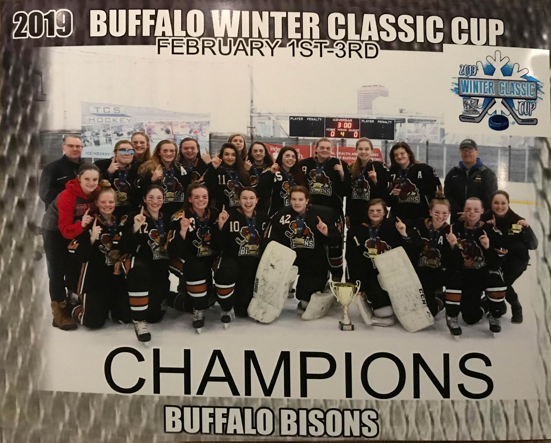 Bisons 16U Gold 2019 Buffalo Winter Classic Champions