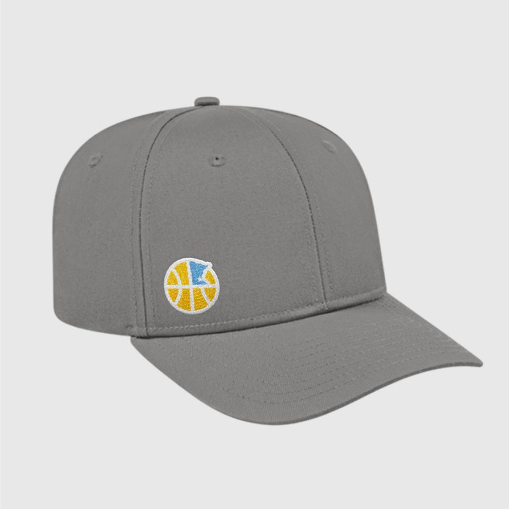 Official Mpls Lakers Youth Traveling Basketball Program Inc apparel and gear in Minneapolis, MN: Flex Fit baseball hat with embroidered logo