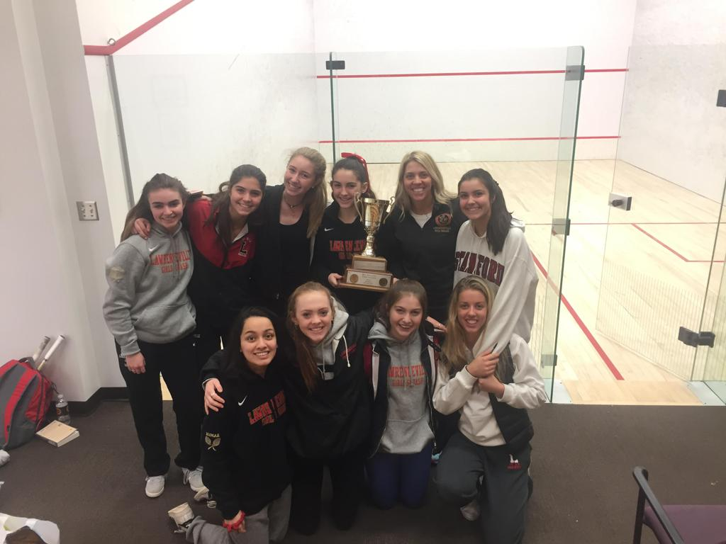2018 MAPL Girls' Squash Champions- The Lawrenceville School