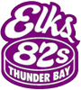 Sponsored by Thunder Bay Elks 82's