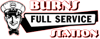 Burns full service website logo element view