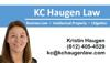 Sponsored by KC Haugen Law