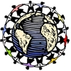 Earth day logo element view