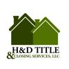Sponsored by H&D Title & Closing Services, LLC