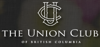 Sponsored by The Union Club of BC