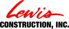 Sponsored by Lewis Construction
