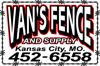 Sponsored by Van's Fence