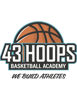 43 hoops logo tagline option 3 element view