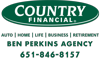 Sponsored by Country Financial - Ben Perkins