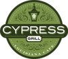 Cypress grill logo element view