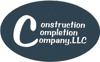 The construction completion company logo element view
