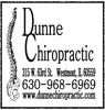 Sponsored by Dunne Chiropractic