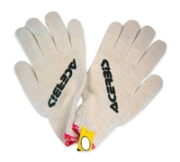 Screen print runners gloves