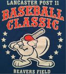 Lancaster Post 11 Classic Baseball Tournament Logo