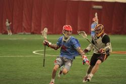St. John's vs. University of Minnesota on Saturday, February 2. Photo by Tom Dube