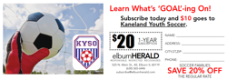 Kaneland Youth Soccer Elburn Herald Subscription Form