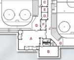 Floorplan crop of the SP Ice Arena.