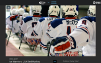 USA Hockey Sled Team