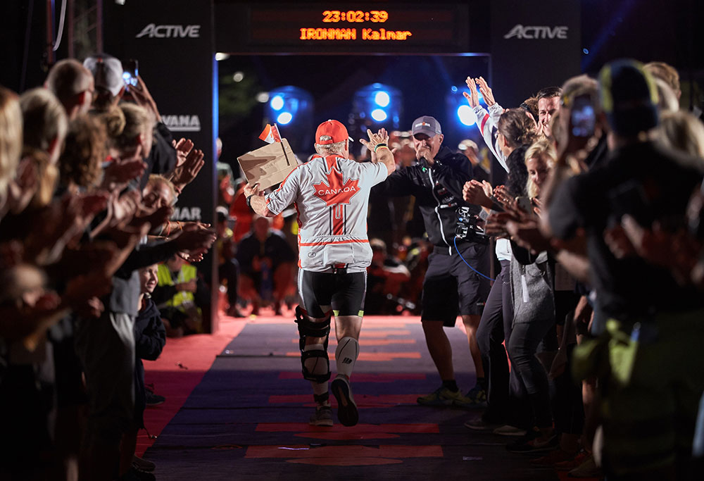 IRONMAN Kalmar Volunteers Finish Line