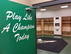 Edina Hornets Hockey Locker Room