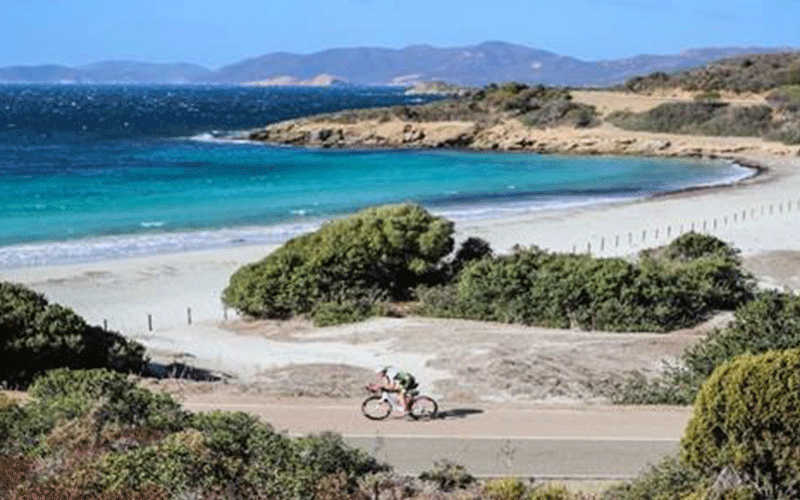 IRONMAN 70.3 Sardegna biking