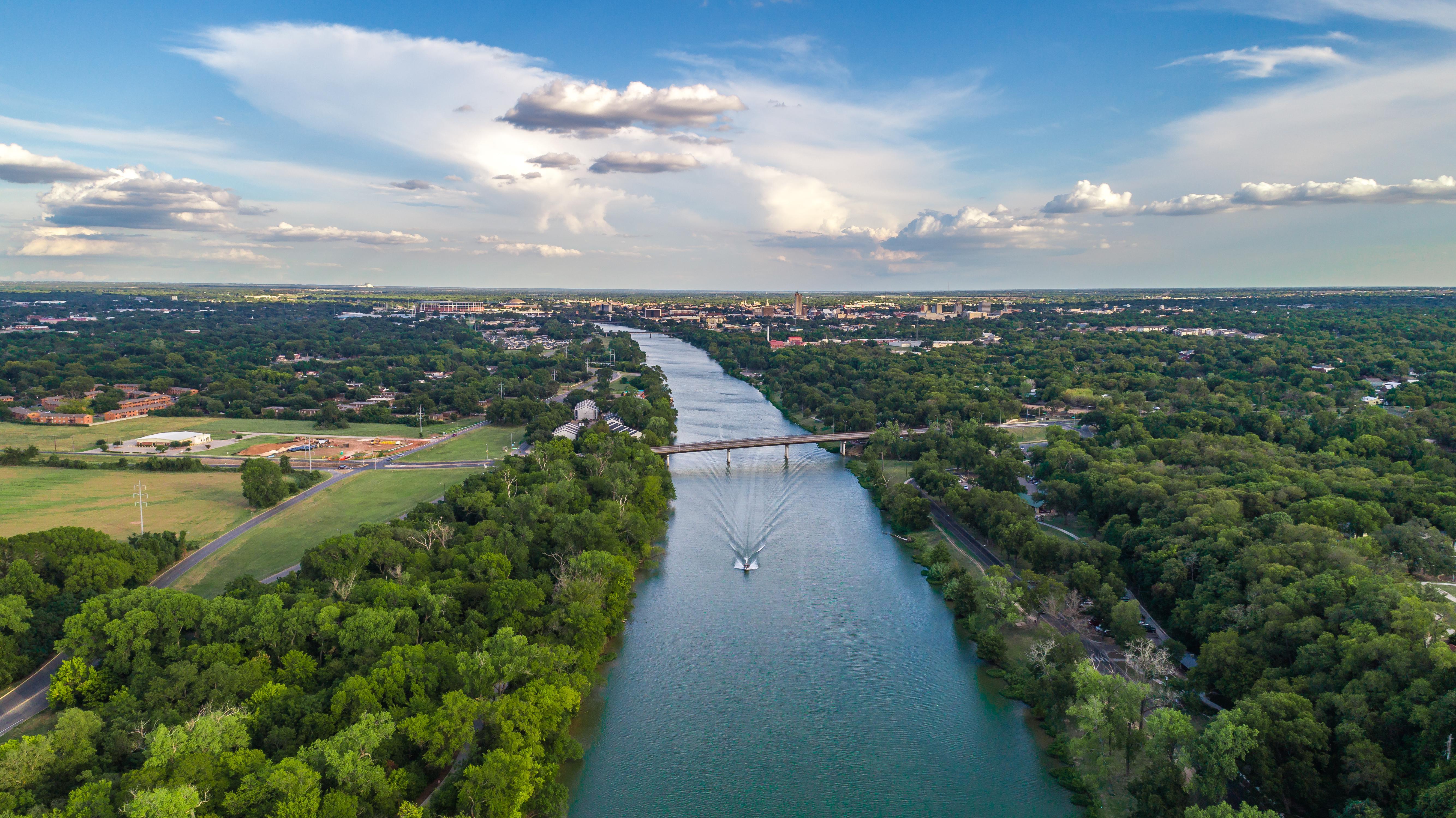 Brazos River in Waco