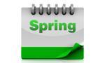 spring calendar photo