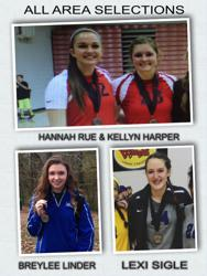 A late congratulations to the following Shoals Attack players on their recent All-Area selections.  Kellyn Harper (Muscle Shoals High), Breylee Linder (Florence High), Hannah Rue (Muscle Shoals High), and Lexi Sigle (Florence High).  Congratulations!
