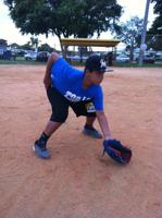 Fielding ground balls