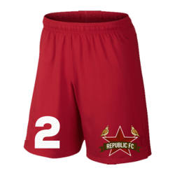 The new secondary logo will appear on the 2016 kit shorts.