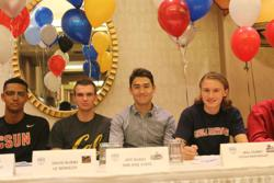 Republic FC Academy players at Signing Day.