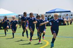 San Ramon FC girls competitive soccer team