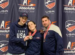 Veronica Mika earned her second gold at Summer Nationals. Photo Credit: AFFA