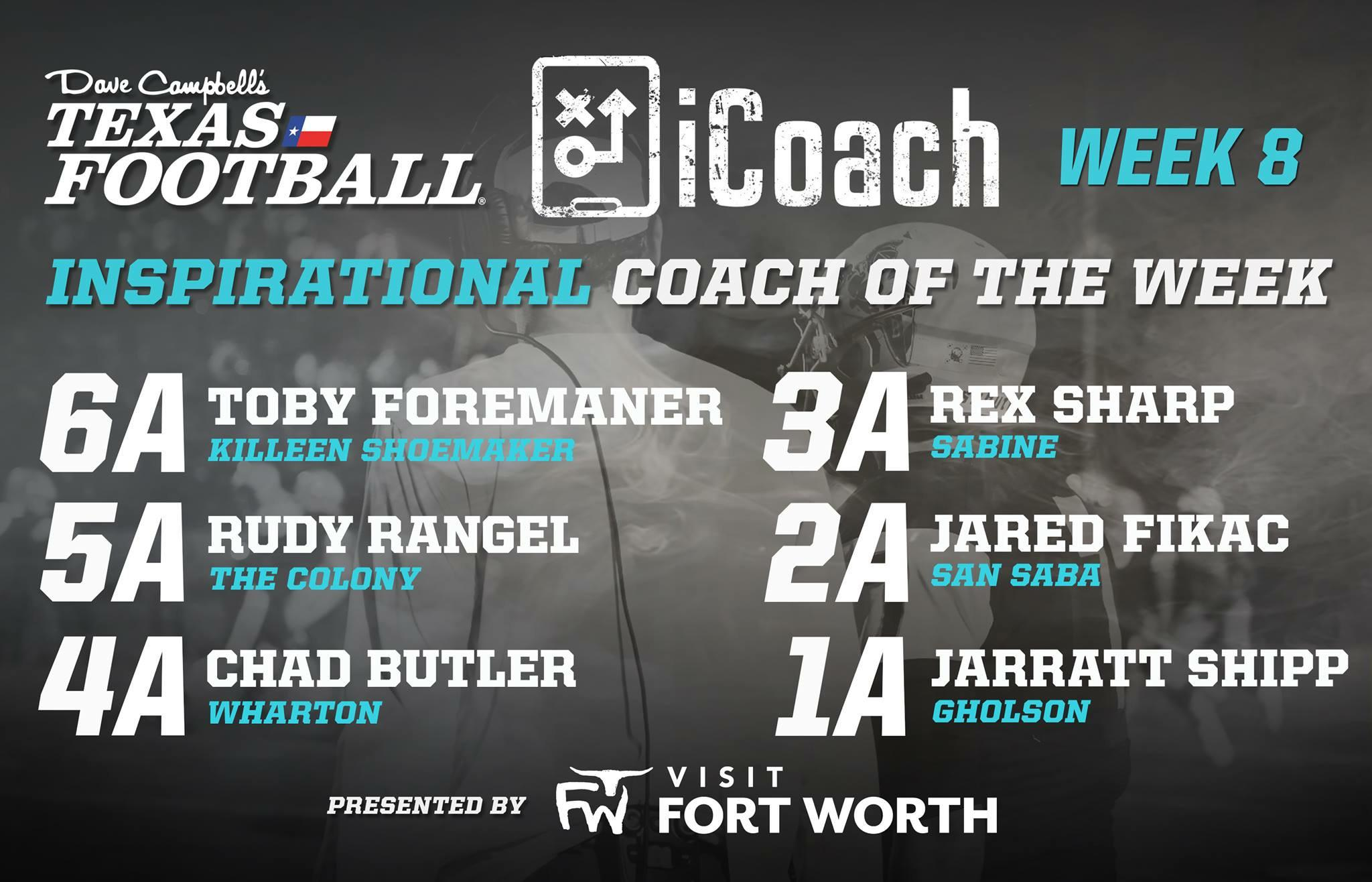 District 5-5A D1 Coaching Staff of the Year