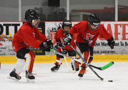 âge de hockey squirt