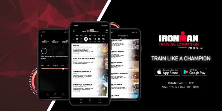 IRONMAN peakers training app