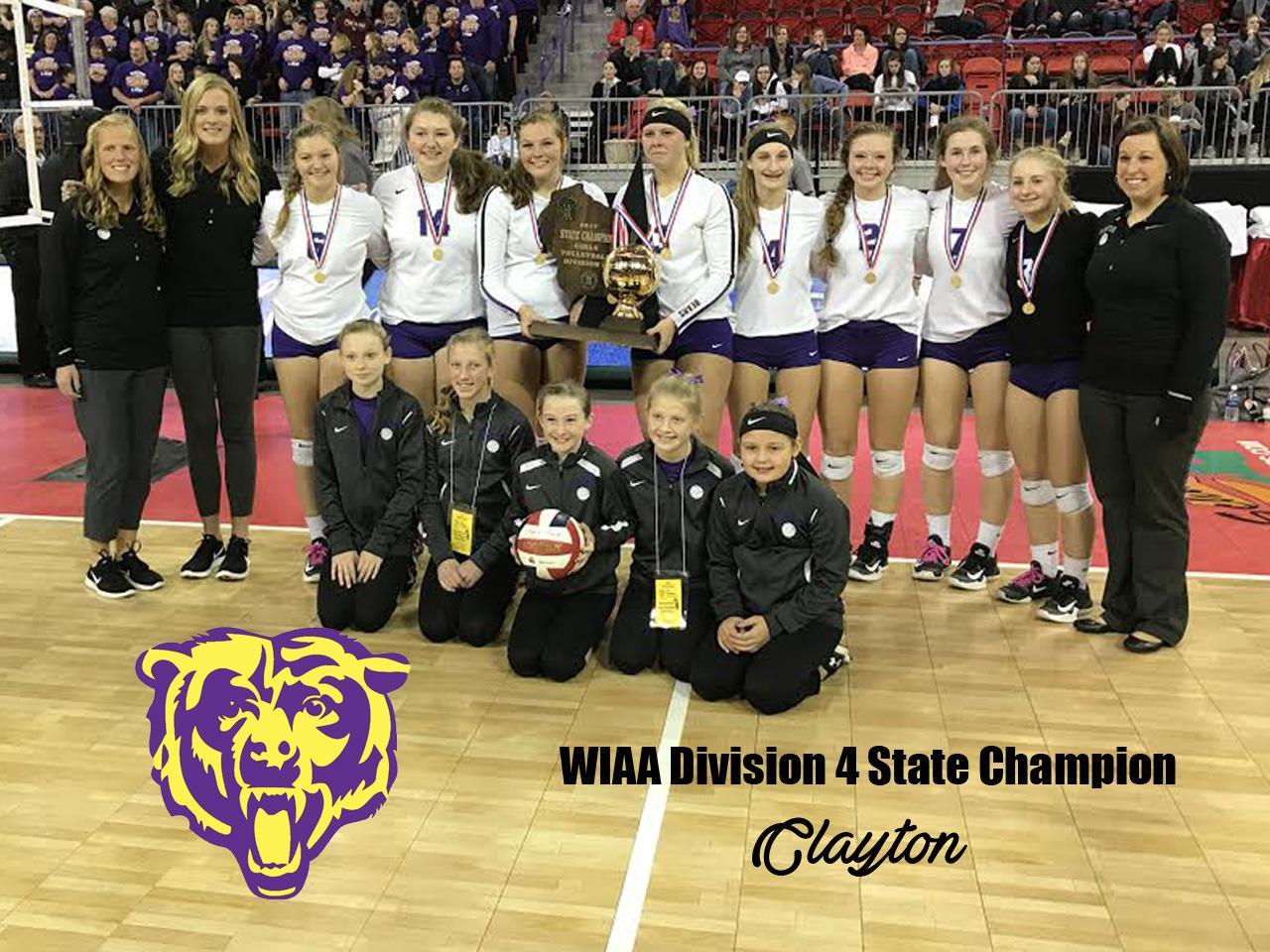 Division 4 State Champion Clayton