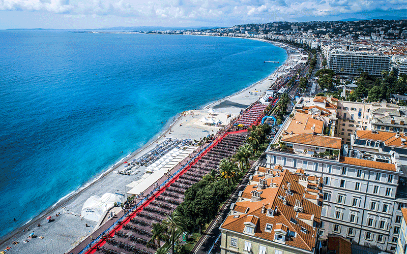 Nice France view