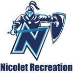 nicolet recreation department logo